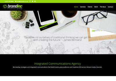 Brand Inc – Website Development