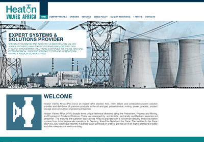 Heaton Valves – Website Development
