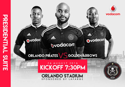 Orlando Pirates – 2016/2017 look and feel refresh