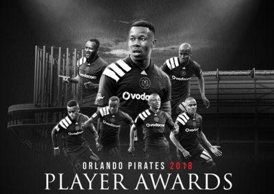 Orlando Pirates – Player Awards 2018