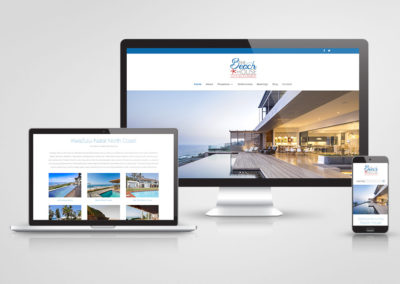 The Beach House Letting Company – Website design and development