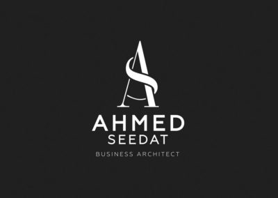 Ahmed Seedat – Logo Design